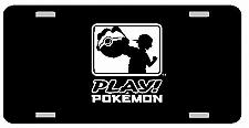 Buy Play Pokemon License Plate Car Tag Vanity Plate