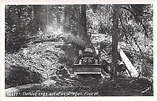 Buy Main Lounge, Timberline Lodge Gov't Camp Oregon Real Photo RPPC Vintage Postcard