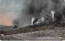 Buy D.&R.G. Train Crossing Soldier's Summit Utah Vintage Used Postcard