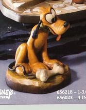 Buy Disney Pluto miniature w bone Woodcarving Anri made in Italy 1 & 1/4 Inches