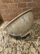"""Buy Vintage Texas Ware Dallas Ware #118 Melmac Melamine 10"""" Confetti Mixing Bowl"""