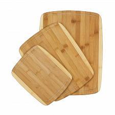 """Buy *16977U - Bamboo Cutting Board 3pc Set 15 3/4"""" - 13"""" - 9 7/8"""""""