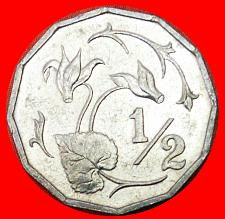 Buy # FLOWER: CYPRUS ★ 1/2 CENT 1983 MINT LUSTER! LOW START★NO RESERVE!