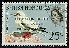 Buy British Honduras #199 Redfooted Booby; Used (0.40) (3Stars) |BHO199-01XVA
