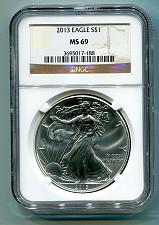 Buy 2013 AMERICAN SILVER EAGLE NGC MS69 BROWN LABEL PREMIUM QUALITY FAST SHIP PQ