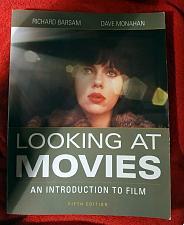 Buy Looking at Movies 5th Exam Copy Like New Barsam Monahan 9780393265194