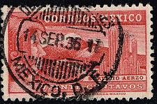 Buy Mexico #C68 Eagle Man & Popocatepelt Volcano; Used (1Stars) |MEXC068-04XRS