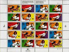 Buy 1995 32c Recreational Sports, Tennis, Sheet of 20 Scott 2961-2965 Mint F/VF NH