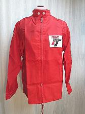Buy Vintage TEAM TEXACO Patch Badge Nylon Windbreaker Rain Jacket Zip Ladies M