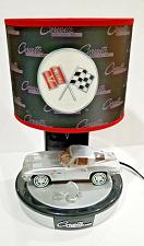 Buy 1963 CORVETTE STINGRAY COLLECTORS TABLE LAMP WITH SOUND OVERHAULED WARRANTEE #2