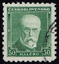 Buy Czechoslovakia #168 President Masaryk; Used (2Stars) |CZE0168-08XRS