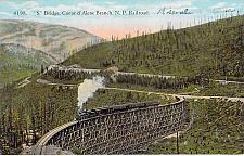 Buy S Bridge, Coeur d'Alene Branch Northern Pacific RR Vintage Unused Postcard