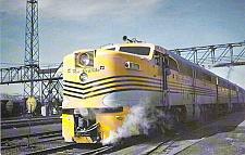 Buy Denver & Rio Grande Western ALCO PA's Engine Unused Vintage Postcard
