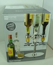 Buy NEW J C Penney Home Collection Rotating Shooter Liquor Carousel Holds 6 Bottles