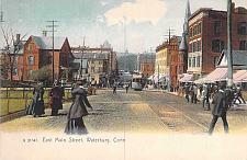 Buy East Maint Street, Waterbury Conn Postcard