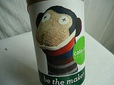 "Buy Cate and Levi Be the Maker 10"" MONKEY Puppet Sewing Kit Reclaimed Wool"