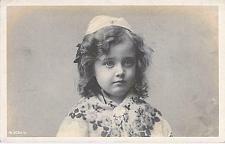 Buy Young European Girl Real Photo RPPC Used Postcard