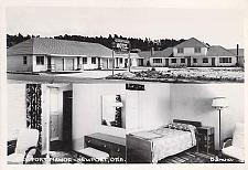 Buy Newport Manor, Newport Oregon Real Photo Vintage Postcard