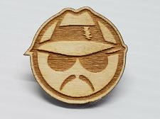 Buy Laser Engraved Low Rider Hat Pin