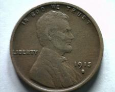 Buy 1915-S LINCOLN CENT PENNY VERY FINE+ VF+ NICE ORIGINAL COIN BOBS COINS FAST SHIP