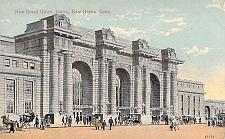 Buy New Grand Union Station, New Haven, Conn Vintage Postcard