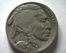 Buy 1927-S BUFFALO NICKEL VERY FINE VF NICE ORIGINAL COIN FROM BOBS COINS FAST SHIP