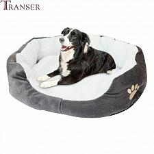 Buy Transer Warm Double-Cushion Dog Puppy Bed Soft Fleece Dog House Pet Bed