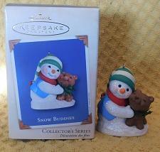 Buy Hallmark Snow Buddies Christmas Ornament 2002 5th In Series W/Box Exc!