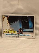 Buy Trading Card Battlestar Galactica #19 Annihilation Human Colonies 1978