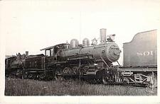 Buy Southern Railroad at Finlet, Ala. Engine #305, 1925 Real Photo RPPC Postcard