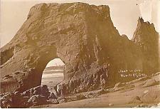 Buy Jump of Joe, Newport Lighthouse Oregon Real Photo RPPC Vintage Postcard