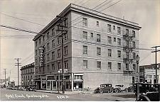 Buy Hotel Grand, Roseburg, Oregon Real Photo Postcard RPPC