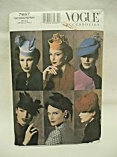 Buy Vogue Pattern 7657 Uncut 1930's 1940's Hats 6 styles One Size fits Most