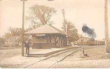 Buy Railroad Station, Mt. Farmington ME, Real Photo RPPC Vintage Postcard