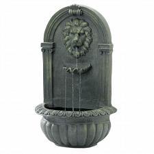 Buy *18868U - Mossy Green Lion Head Wall Water Fountain