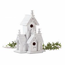 Buy 32347U - Victorian Decorative White Wood Birdhouse