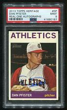 Buy 2013 TOPPS HERITAGE REAL ONE AUTO DAN PFISTER PSA 9 MINT (41680187)