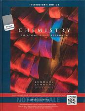 Buy (NEW) Chemistry: An Atoms First Approach 2nd INSTRUCTOR'S EDITION Zumdahl