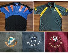 Buy POLO SHIRTS BRONCOS, PACKERS, TROUSERS DOLPHINS, COWBOYS, 49ERS NFL FOOTBALL