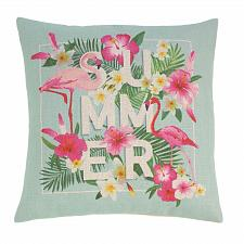 Buy *18704U - Flamingo Summer 17'' Decorative Accent Throw Pillow