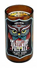 Buy :10873U - Hazelnut Pale Ale Beer Scented Pillar Brown Glass Jar Candle
