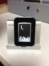 Buy Zippo Lighter Moon over Mountains collectors tin E XVI 2000 Pewter Marlboro