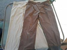 Buy 2 Pairs Mens Jeans Hiltl Khaki Jeans Size 35x31 ZE500 Dockers Brown D3 Pants 36""