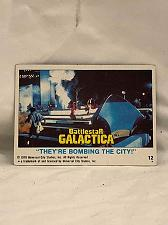 Buy Trading Card Battlestar Galactica #12 They're Bombing The City 1978