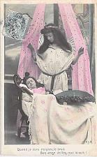 Buy France French Good Angel Watch Me Sleep Tinted Photo Postcard Used