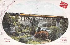 Buy Pioneer Limited, Chicago Milwaukee & St. Paul Railway Vintage Postcard