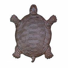 Buy *17200U - Weathered Turtle Cast Iron Garden Stepping Stone Yard Art