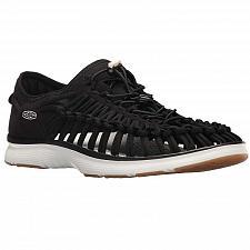 Buy New Keen Uneek 02 Mens Fisherman Sandals Casual Water Sport Black/Gold 1017050