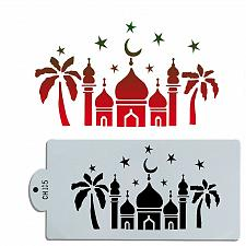 Buy Cake Mosque Ramadan Kareem design decoration baking and pastry tool cookie