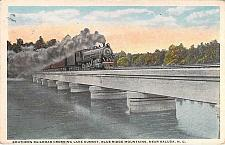 Buy Southern Railroad Crossing Lake Summit, Blue Ridge Mts. NC Vintage Postcard
